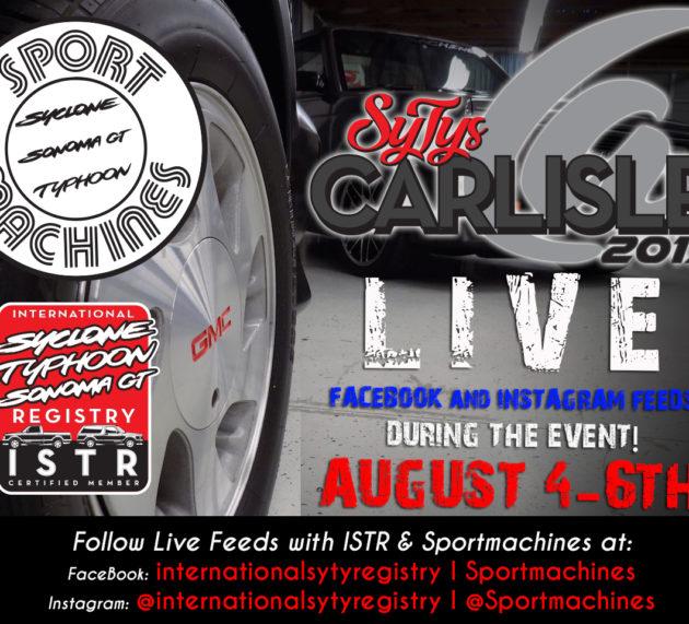 SyTys@Carlisle LIVE FEEDS!