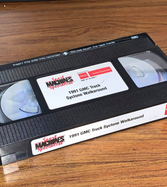 1991 Syclone Walk-around Video