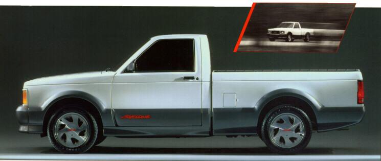 1991 Syclone Challenge Trucks